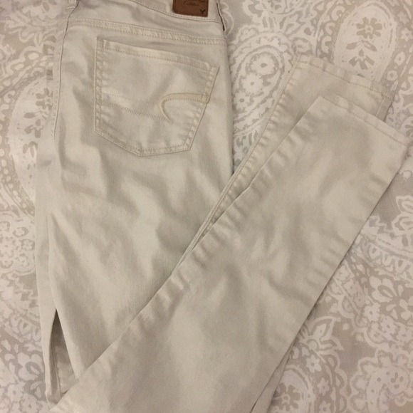 American Eagle Outfitters Denim - American eagle metallic jeggings